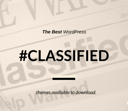 Best WordPress Classifieds Theme 2018