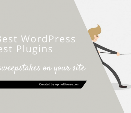 Best WordPress Contest Plugins to Run Sweepstakes on Your Site 2019