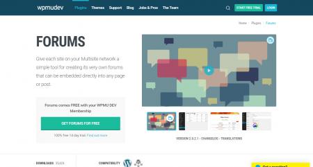 Forums by WPMU dev