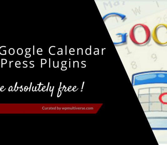 Free WordPress Google Calendar Plugins 2019