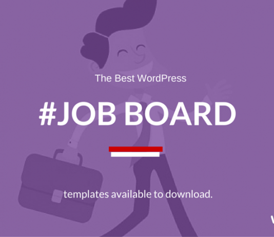 Best WordPress Job Board Themes to Create your own Job Website 2019