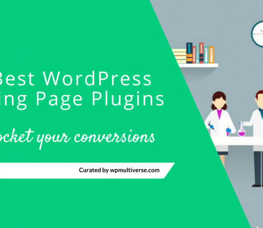 Best WordPress Landing Page Plugins 2019