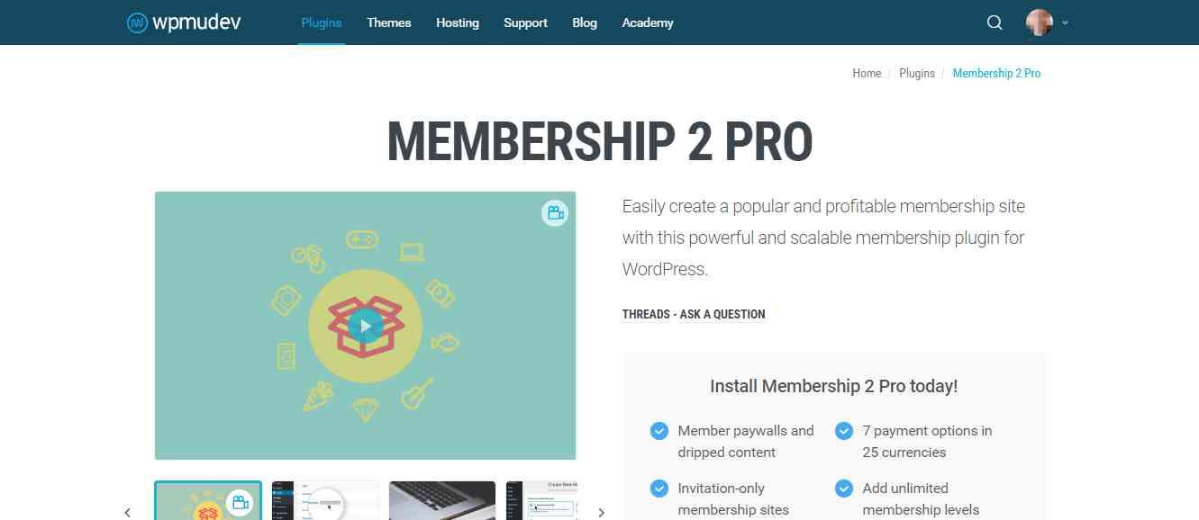 Membership 2 Pro