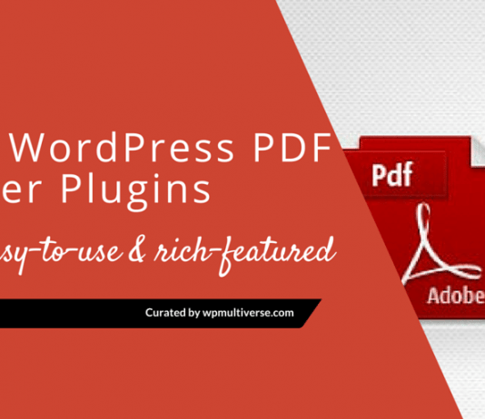 Best WordPress PDF Viewer Plugins 2019