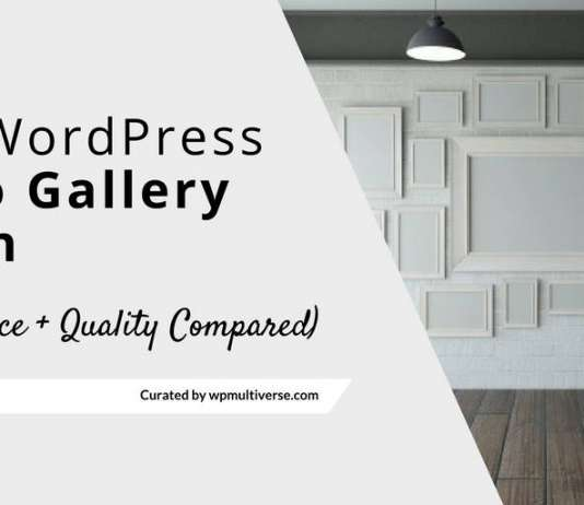 Best WordPress Gallery Plugins Compared 2019