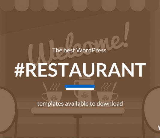 Best WordPress Restaurant Themes 2018