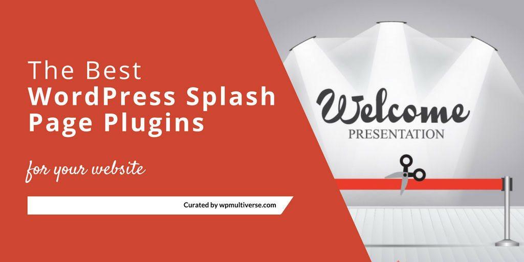 11 best wordpress splash page plugins 2019 (real time updates11 best wordpress splash page plugins 2019 (real time updates) softwarefindr