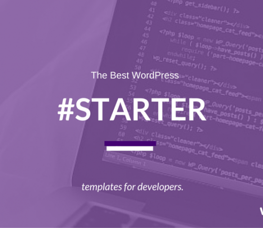 Best WordPress Starter Themes for Developers (2018 Compared)