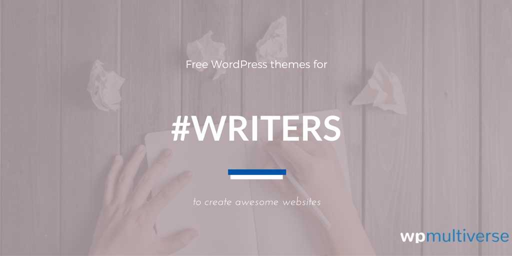 44+ Best Free WordPress Themes For Writers (2018 Compared ...