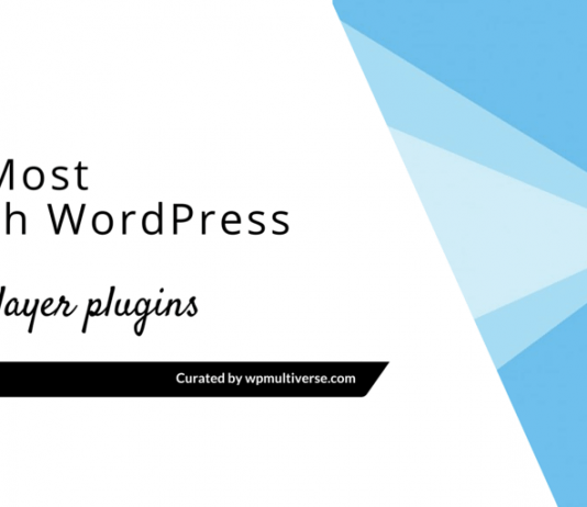 Best WordPress Video Player Plugins 2018