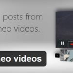 WordPress Vimeo videos