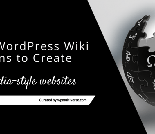 Best Wiki Plugins for WordPress (2019 Compared)