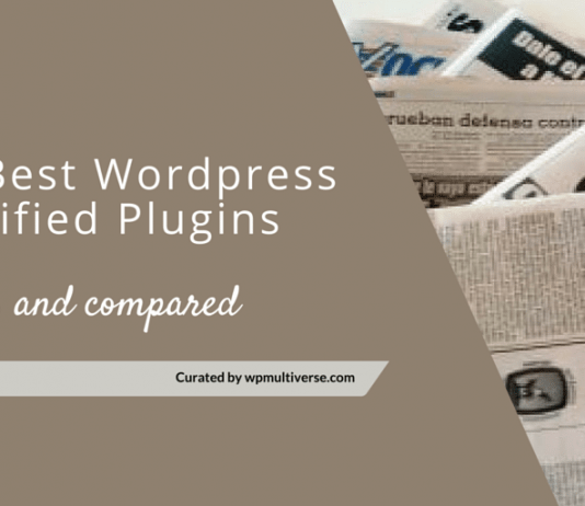 Best WordPress Classifieds Plugins 2018