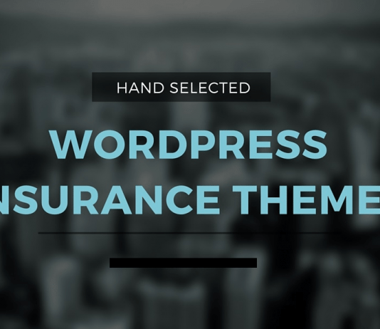 Best Insurance WordPress Themes 2019