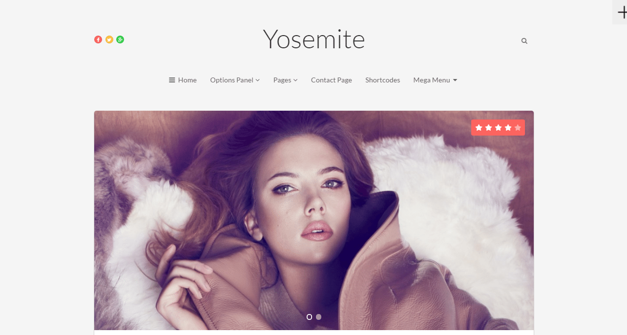 Yosemite theme