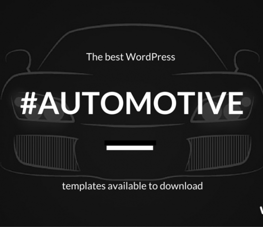+ Automotive WordPress Themes for Dealership Website