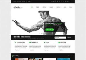 Balance WordPress Theme