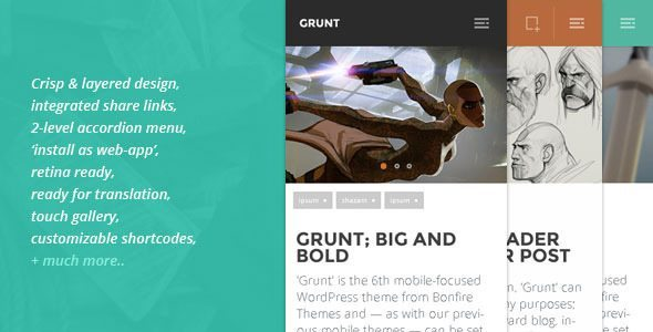 best-10-wordpress-mobile-themes-monolith-theme