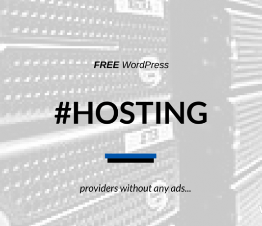 Free WordPress Hosting 2019