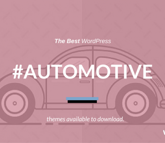 Best Car Automotive WordPress Themes 2020