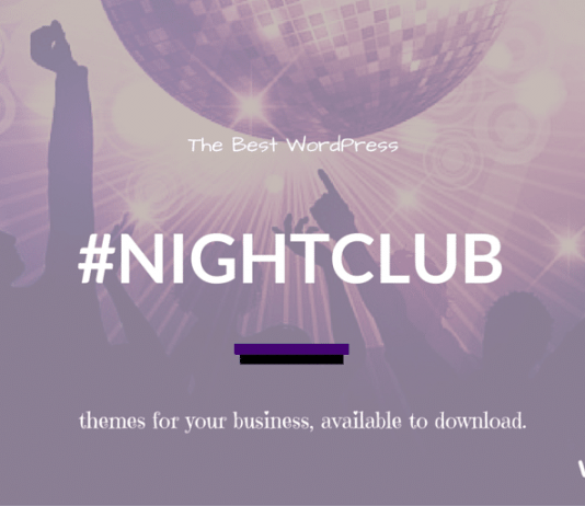 Best Nightclub WordPress Themes 2019
