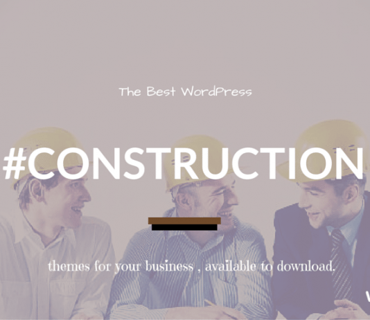 Best Construction WordPress Themes 2020
