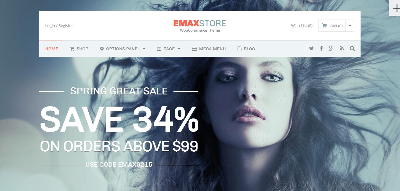 eMaxStore Theme