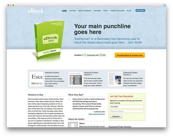 ebook-wordpress-ebook-theme