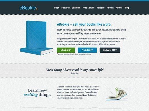 eBookie Theme