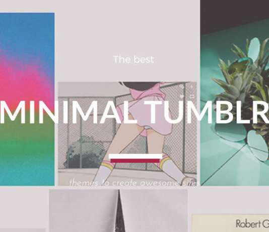 Free Minimalist Tumblr Themes (2019 compared)