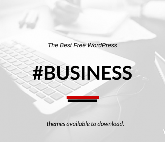 Best Free Business WordPress Themes 2018