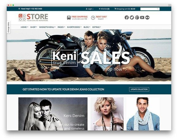 GoodStore Theme