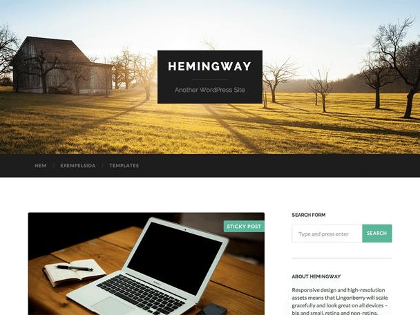 Hemingway Theme