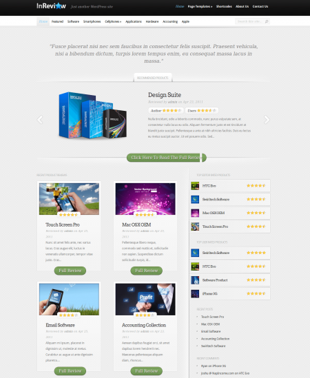 InReview Theme