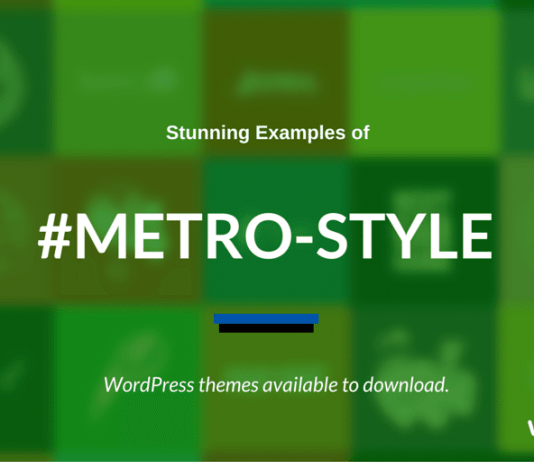 Metro-Style WordPress Themes 2020