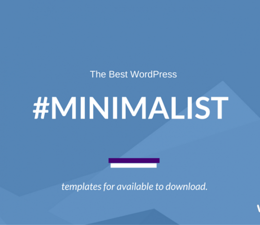 Best Minimalist WordPress Themes (2019 Compared)