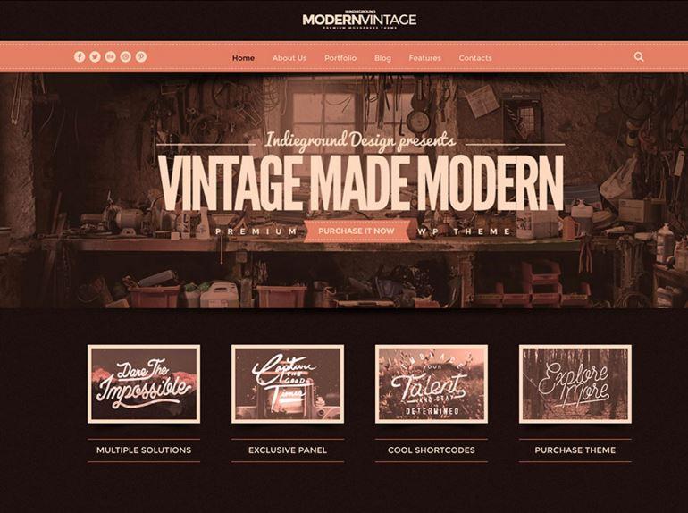 Modern Vintage Theme