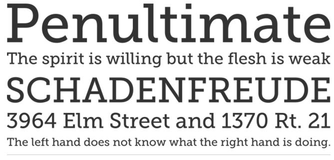 14 Amazing Free Slab Serif Fonts | SoftwareFindr