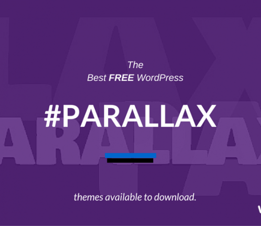 Best Free Parallax WordPress Themes 2019