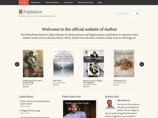 Publisher Theme