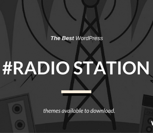 Best Radio Station WordPress Templates 2019