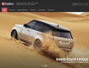 redline car wp theme