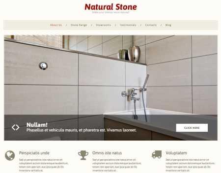 Stone Decor Theme