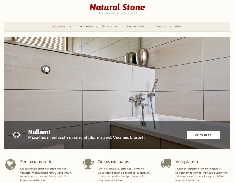 Stone Decor Theme