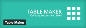 table-maker-plugin