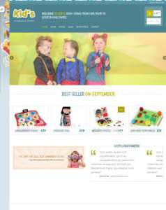 top-10-free-ecommerce-wordpress-themes-kidshop
