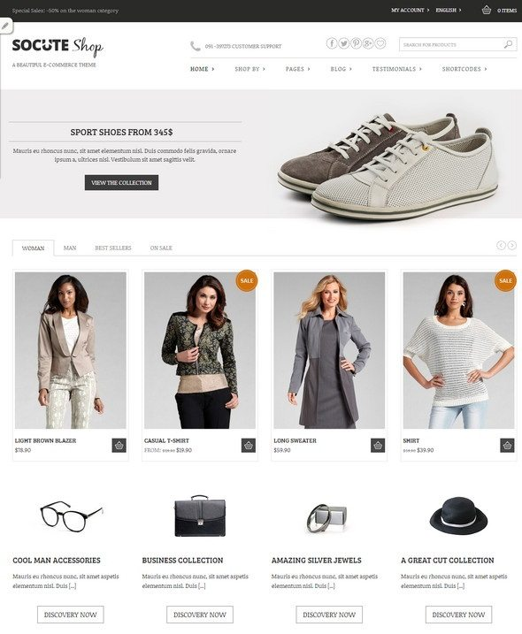 top-10-free-ecommerce-wordpress-themes-socute-theme