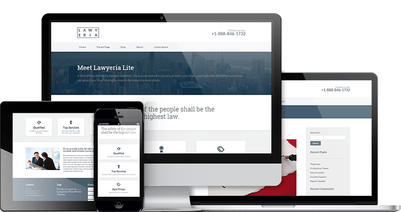 Lawyeria Lite Theme
