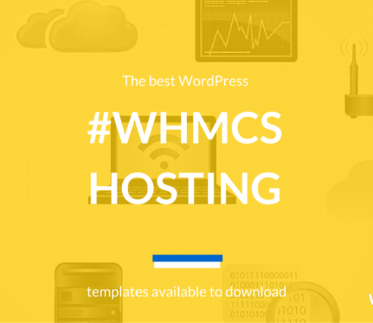 Best WordPress Hosting Theme WHMCS 2019