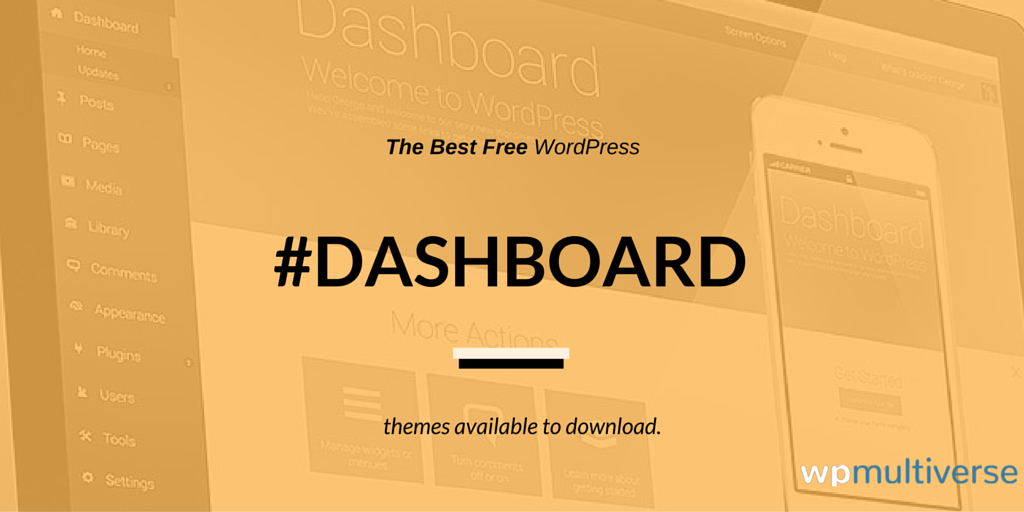 11 Free WordPress Admin Themes for your Dashboard 2018   SoftwareFindr
